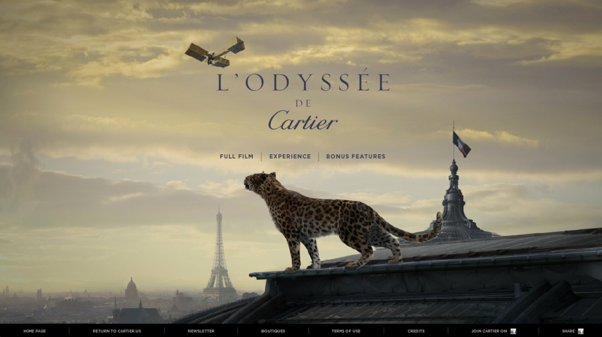 L'Odyssée de Cartier Advertisement