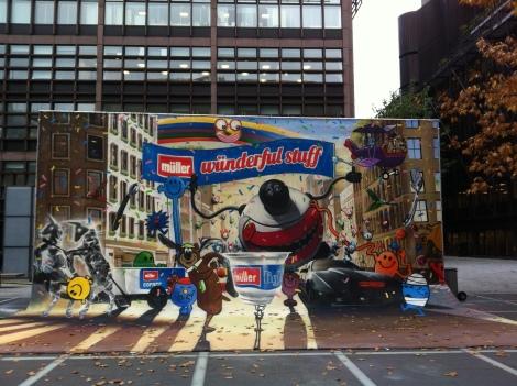 Müller Wünderful Stuff Mural