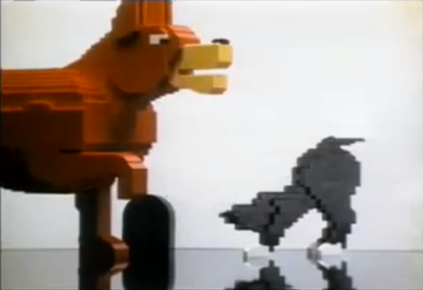 Lego Kipper Advert Cutscene