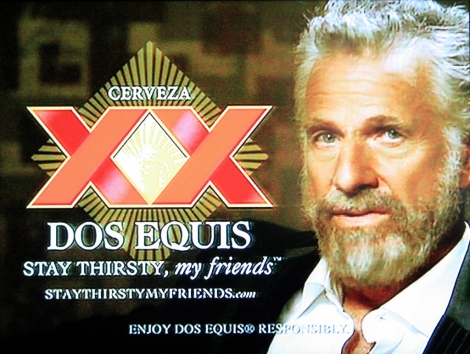 dos equis most interesting man in the world advert ads reviewed today
