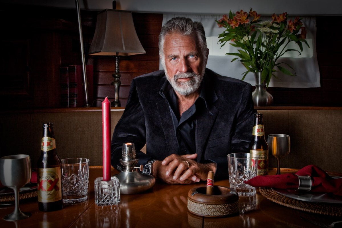 Dos Equis Most Interesting Man In The World Advert