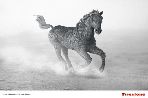Firestone Horse