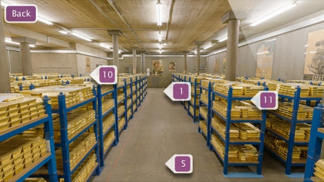 Bank of England Gold Vault